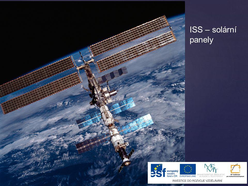 ISS – solární panely