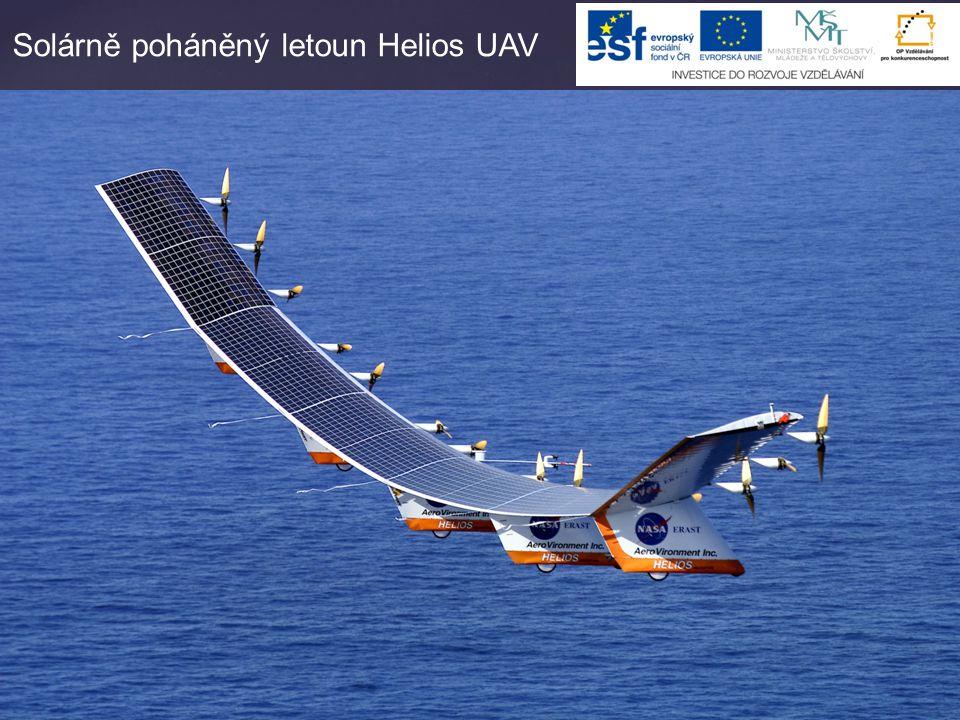 Solárně poháněný letoun Helios UAV