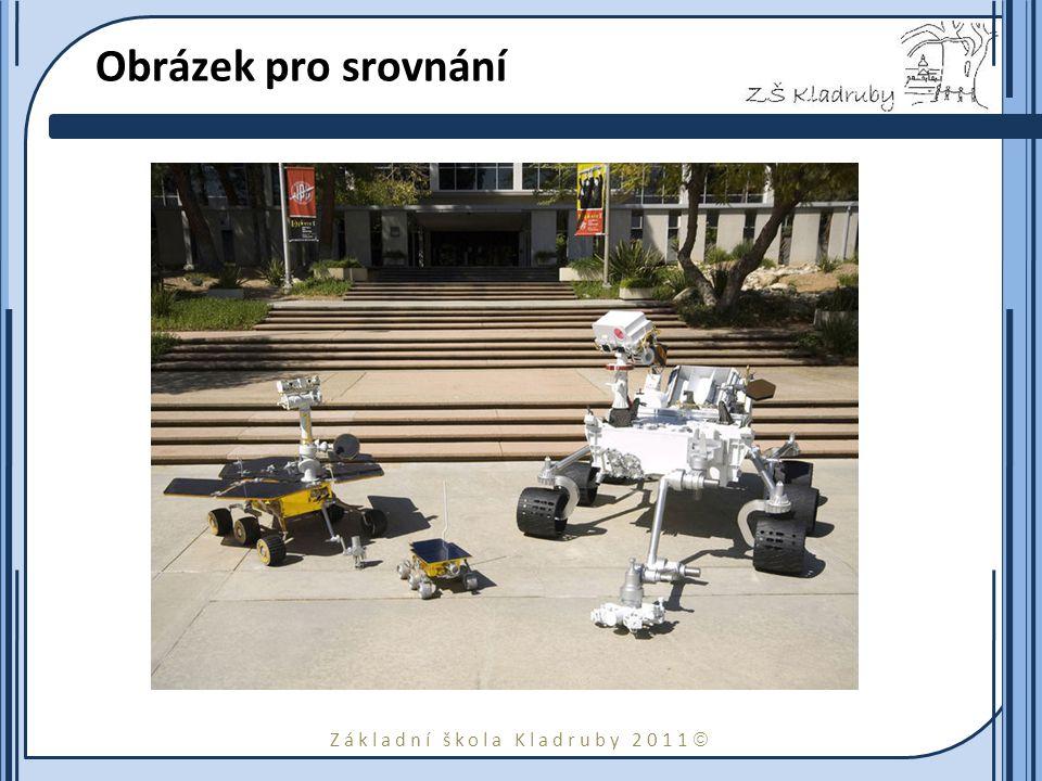 Základní škola Kladruby 2011  Obrázek pro srovnání