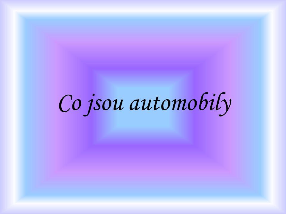 Co jsou automobily