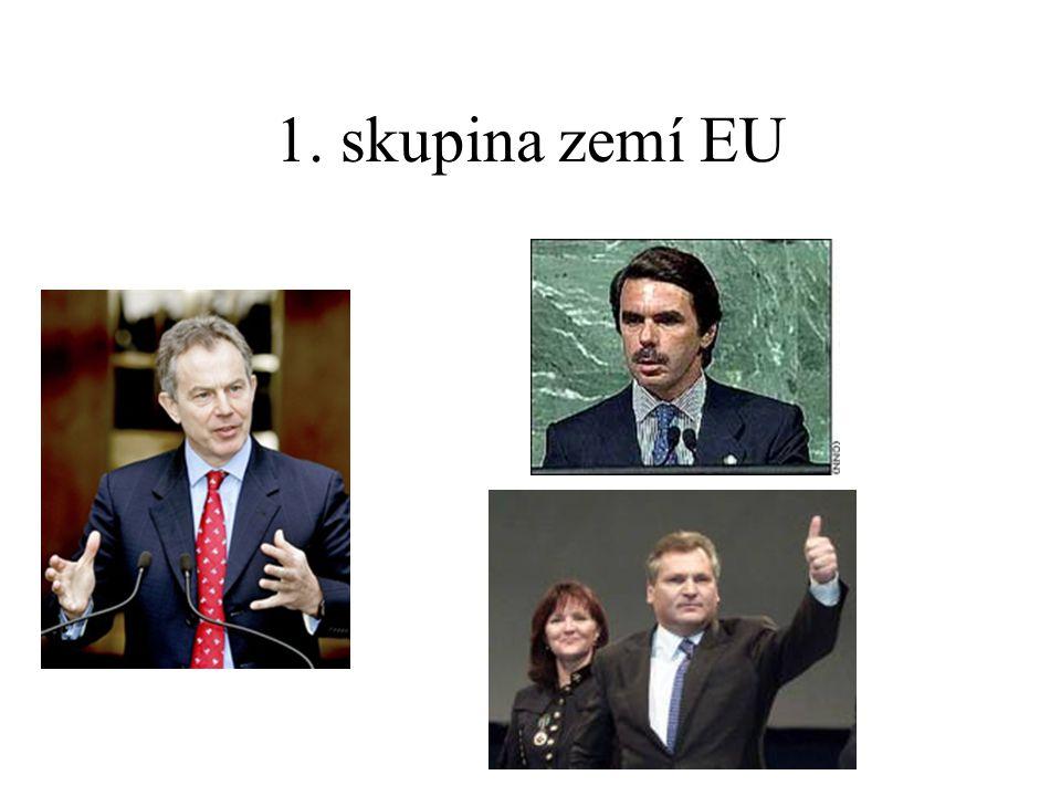 1. skupina zemí EU