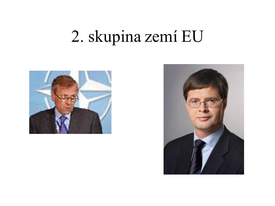 2. skupina zemí EU