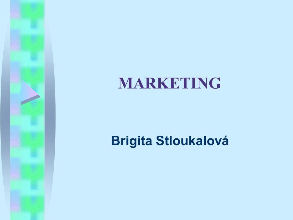 MARKETING Brigita Stloukalová