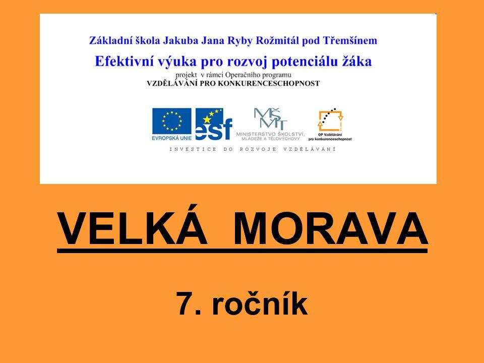 VELKÁ MORAVA 7. ročník