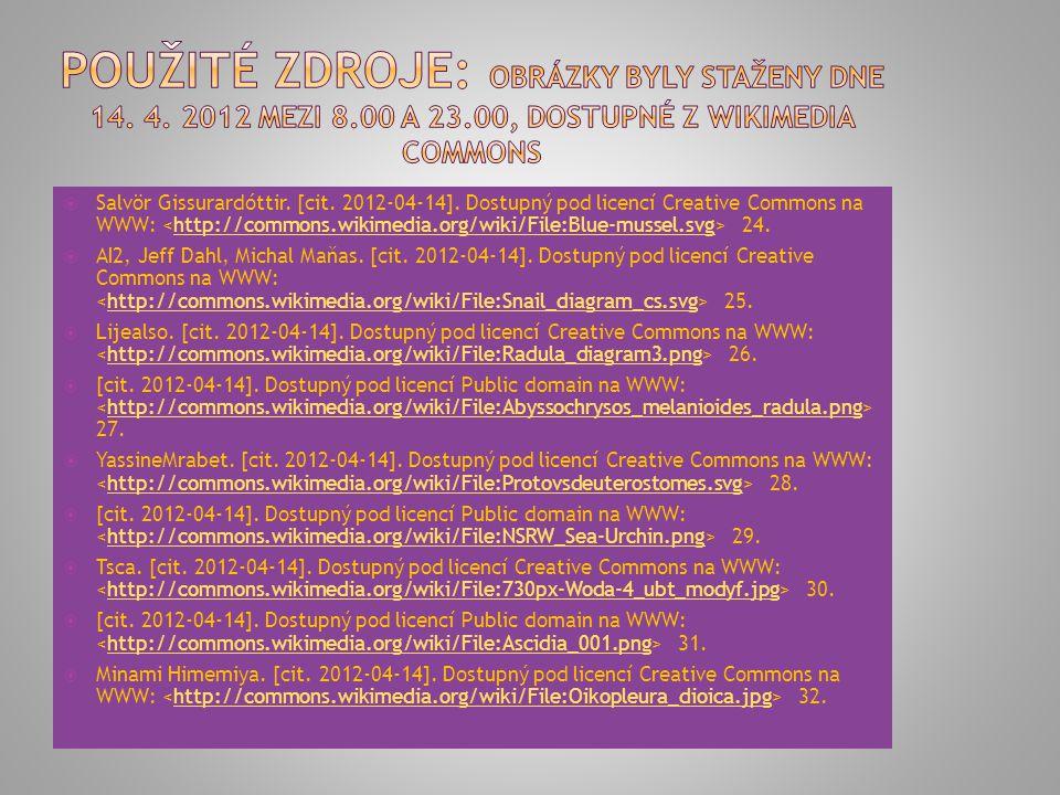  [cit. 2012-04-14]. Dostupný pod licencí Public domain na WWW: 16.http://commons.wikimedia.org/wiki/File:Amphiprion_percula.JPG  Eric. [cit. 2012-04