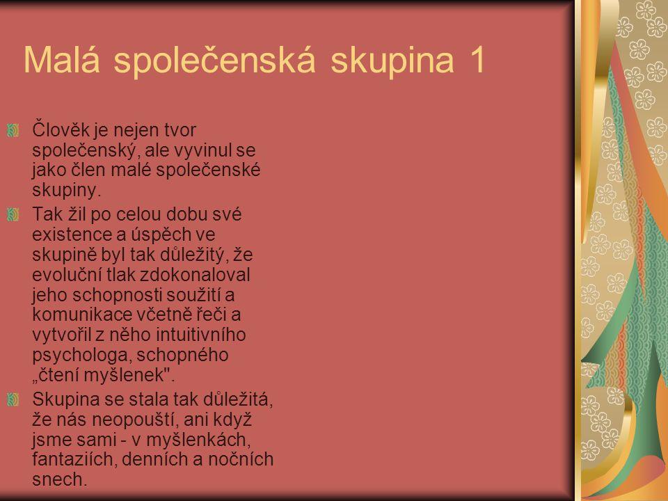 Poznámky ze 7.5 Skupinové schéma je výsledkem sociálního učení a může být změněno sociálním přeučením a novým učením, což je ústřední úkol psychoterapie.