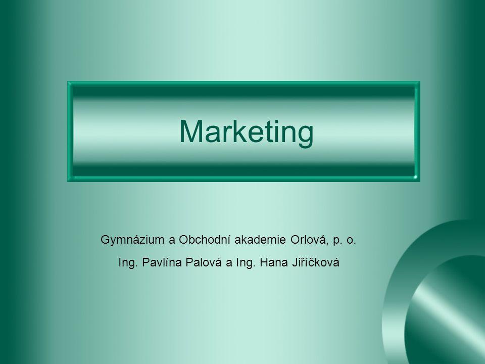 Co je to marketing.Marketing = od angl.