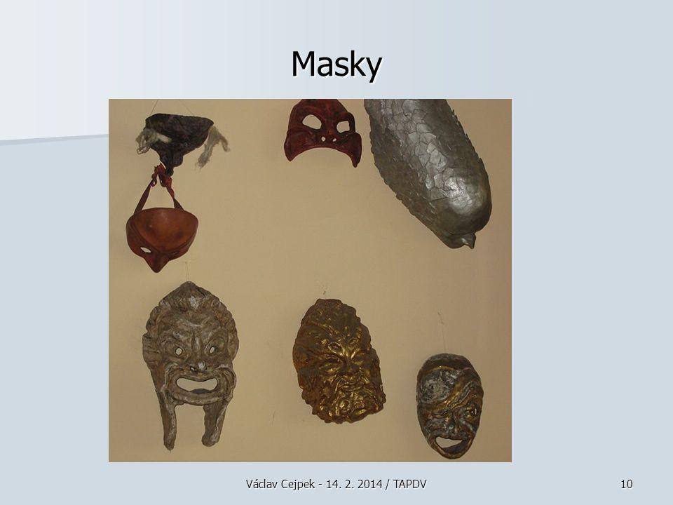 Václav Cejpek - 14. 2. 2014 / TAPDV10 Masky
