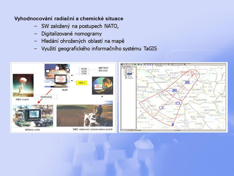 Počítačová grafika a virtuální realita –2D a 3D grafika, –Vizualizace DirectX, OpenGL –Spolupráce s C3I systémy