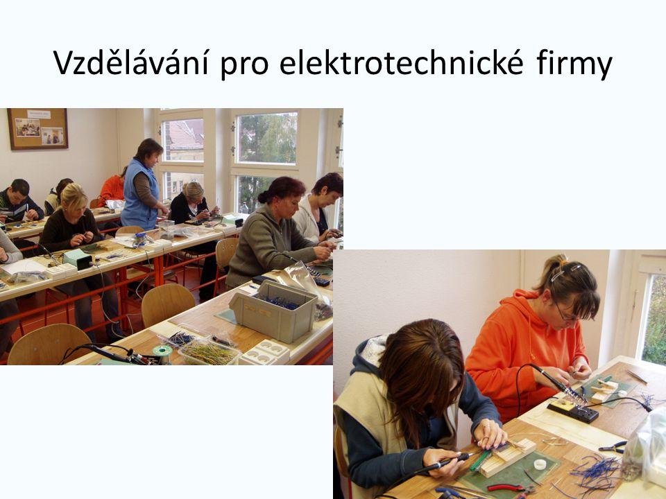 Vzdělávání pro elektrotechnické firmy