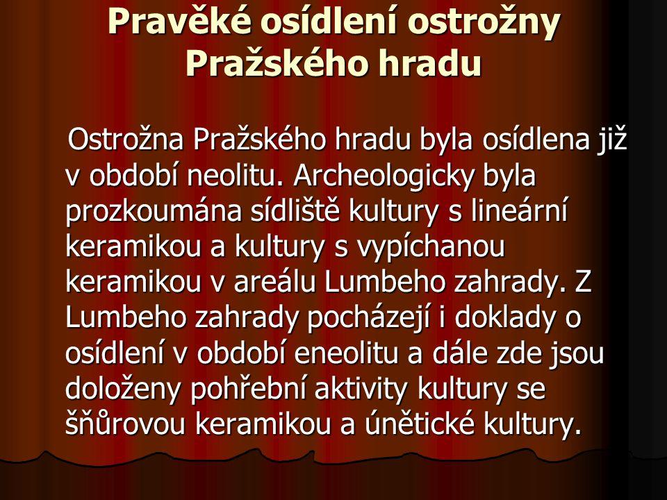 Pražský hrad v období vrcholného středověku Král Přemysl OtakarII.