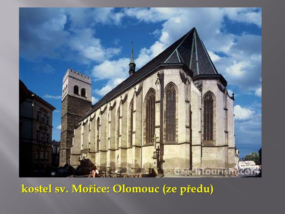 kostel sv. Mořice: Olomouc (ze předu)