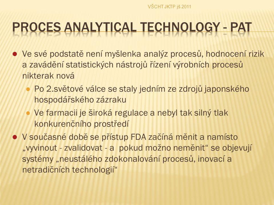 Ve své podstatě není myšlenka analýz procesů, hodnocení rizik a zavádění statistických nástrojů řízení výrobních procesů nikterak nová Po 2.světové vá