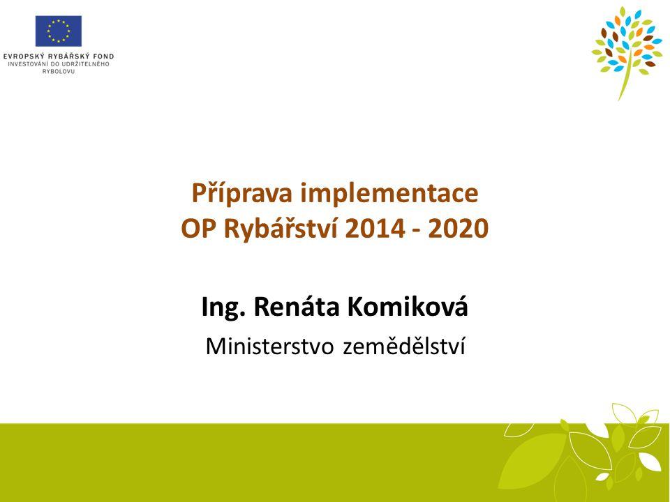 Kapři krmeni směsí KP Len po 4 týdnech sádkování Příprava implementace OP Rybářství 2014 - 2020 Ing.