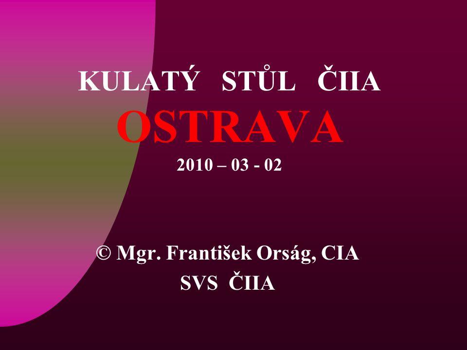 SVS ČIIA© Mgr.