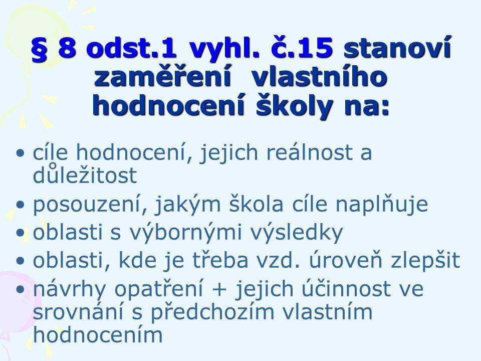 § 8 odst.1 vyhl.