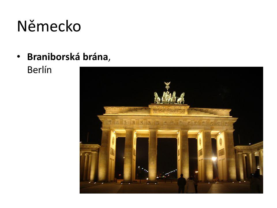 Německo Braniborská brána, Berlín