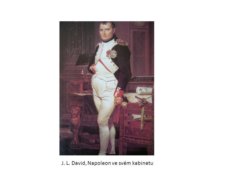 Jean Dominique Ingres - žák Davida, maluje především ženské akty Koupající se Paní Rivierová