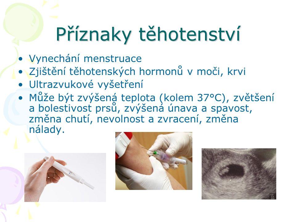Nitroděložní vývoj preembryonální období (embryo = zárodek) období od oplození do vzniku zárodku - trvá do 14.