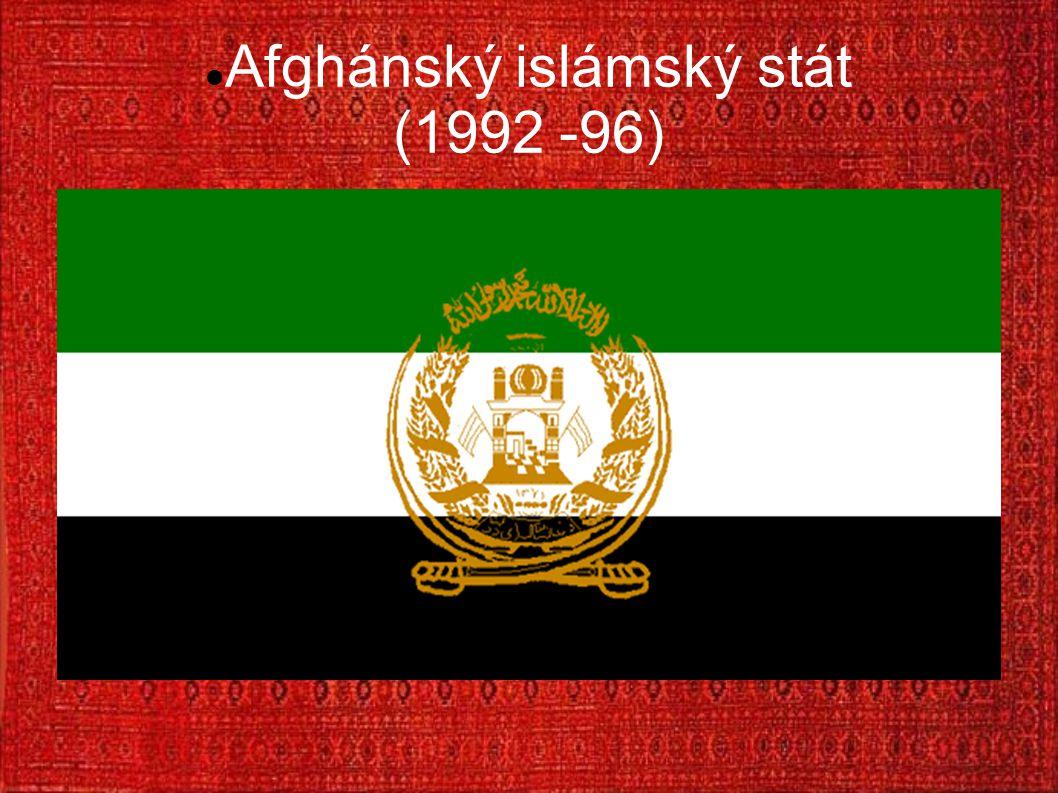 Afghánský islámský stát (1992 -96)