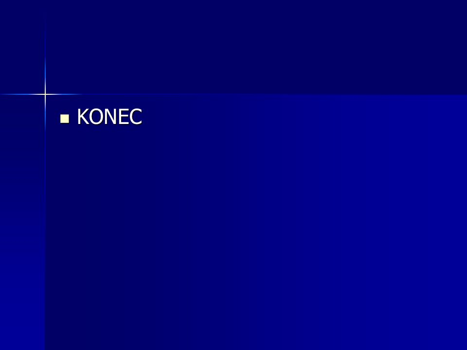 KONEC KONEC