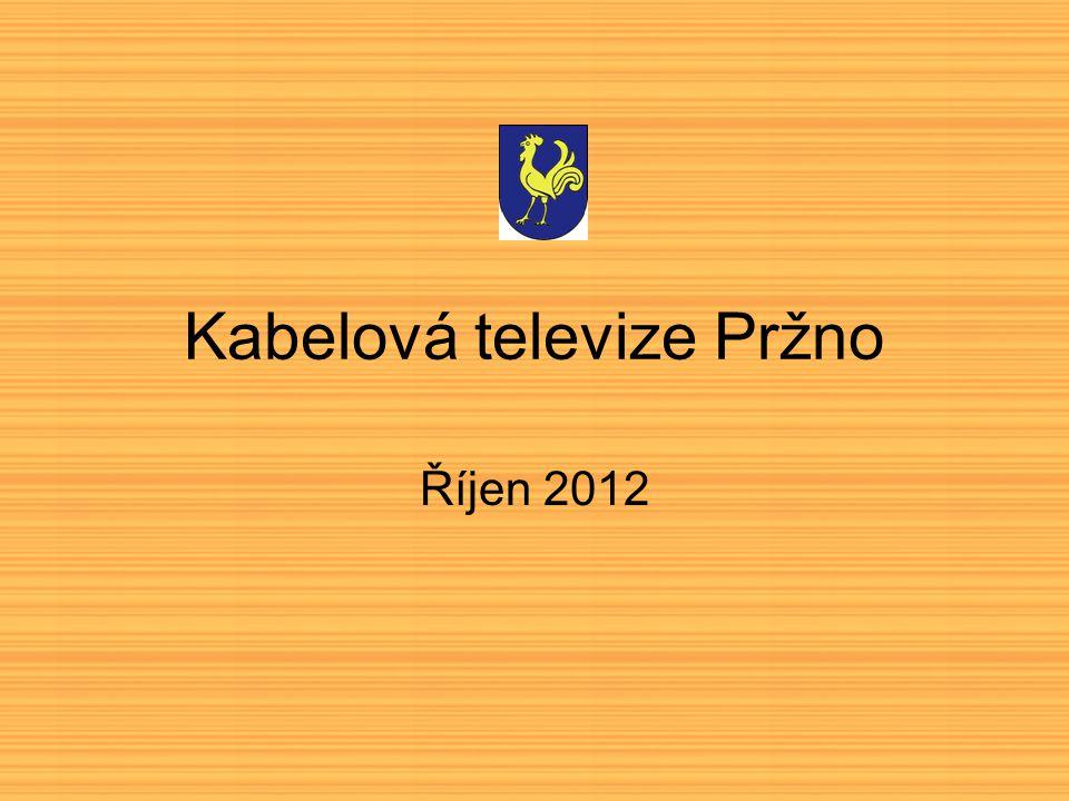 Kabelová televize Pržno Říjen 2012