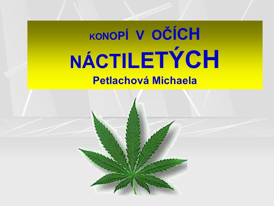 K O N O P Í V O Č Í C H N Á C T I L E T Ý C H Petlachová Michaela