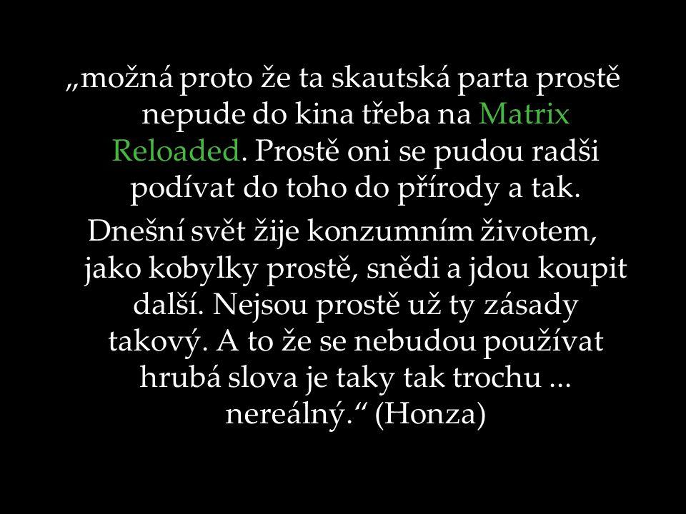 """Semináře """"Skautská výchova a dnešní svět Hradec Králové 1.-2."""