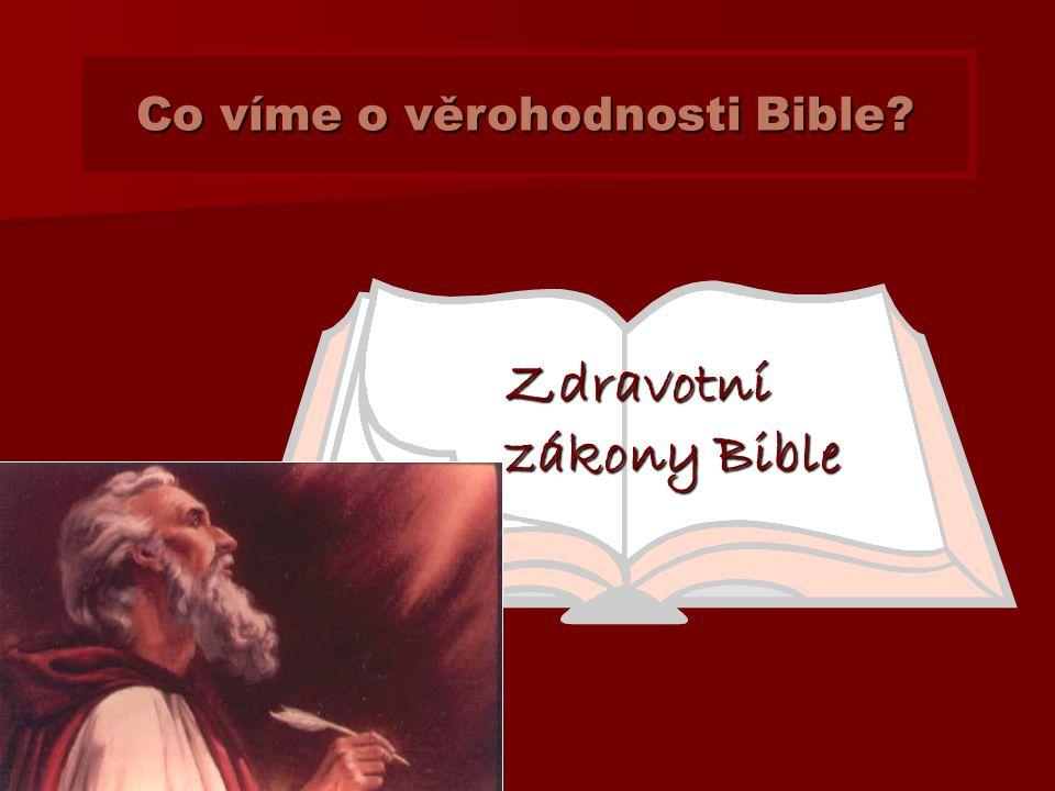 Stará Bible je více než legendy a mýty!!