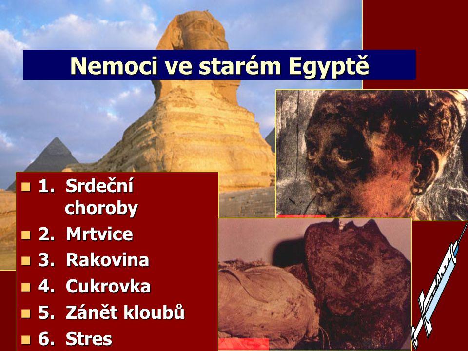 """""""…Jestliže opravdu budeš poslouchat Hospodina, svého Boha, dělat, co je v jeho očích správné, naslouchat jeho přikázáním a dbát na všechna jeho nařízení, nepostihnu tě žádnou nemoci, kterou jsem postihl Egypt. 2.Moj 15,26 Na co umírali staří Egypťané?"""