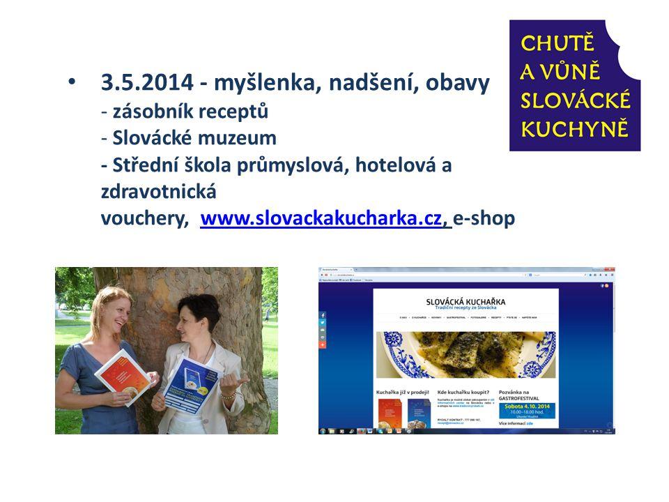 21.5.2014 - tisková konference v restauraci Hotelu Koníček - představení myšlenky Co je to voucher.
