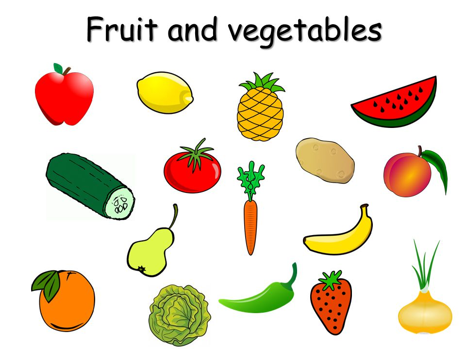 Task 2: Task 2: Look at the pictures again.One piece of fruit or vegetables is missing.