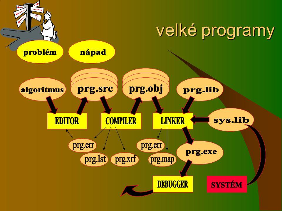 velké programy velké programy