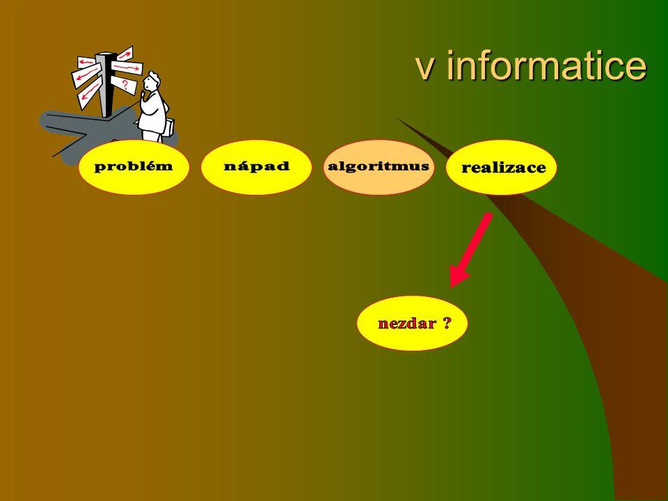 v informatice v informatice
