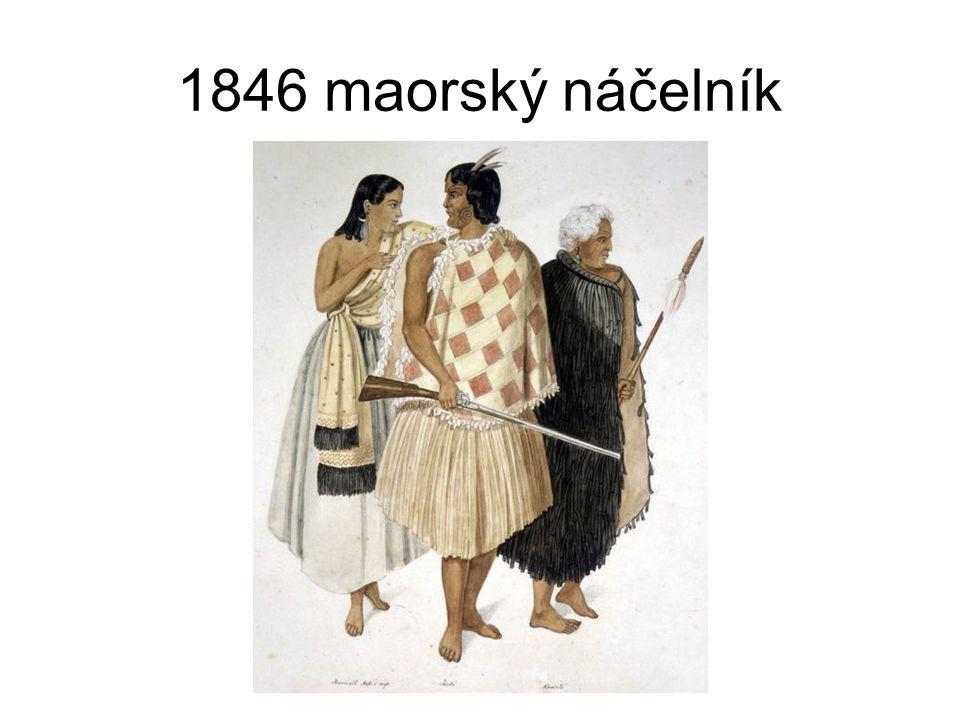 Vliv přistěhovalců na maorskou společnost přistěhovalci sebou přivezli nemoci jako chřipku a spalničky, které snížily počet maorských obyvatel o cca 10% - 15% zakládání plantáží na len ve vlhkých oblastech znamenalo zvýšenou úmrtnost původních obyvatel osvojení si pušek mělo za následek krvavou válku mezi maorskými kmeny mezi lety 1805 – 1840 (Musket Wars), při které bylo několik kmenů vyhlazeno a další byly vyhnány ze svých tradičních území jinam