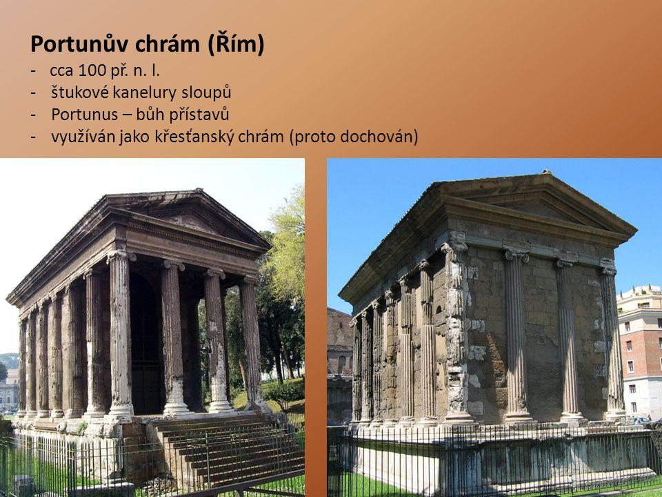 Portunův chrám (Řím) -cca 100 př.n. l.