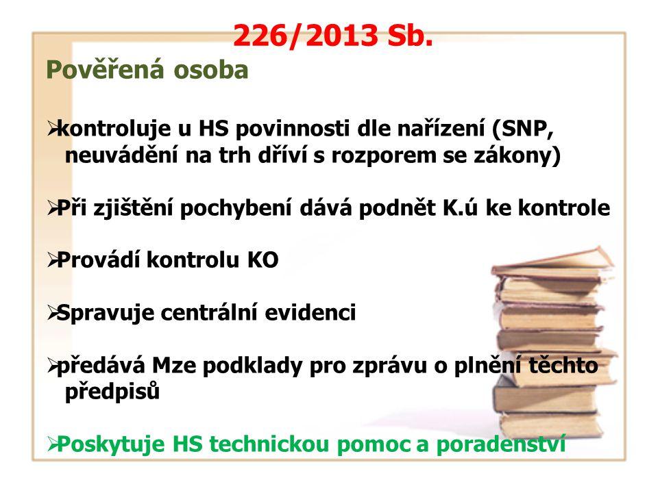 226/2013 Sb.