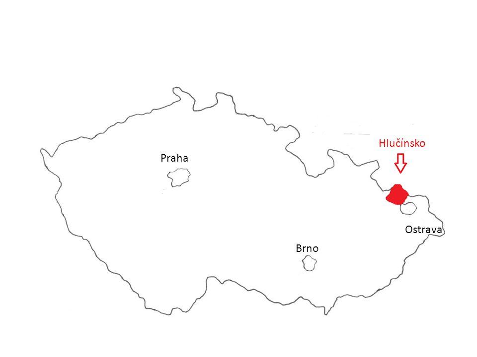 Praha Brno Ostrava Hlučínsko