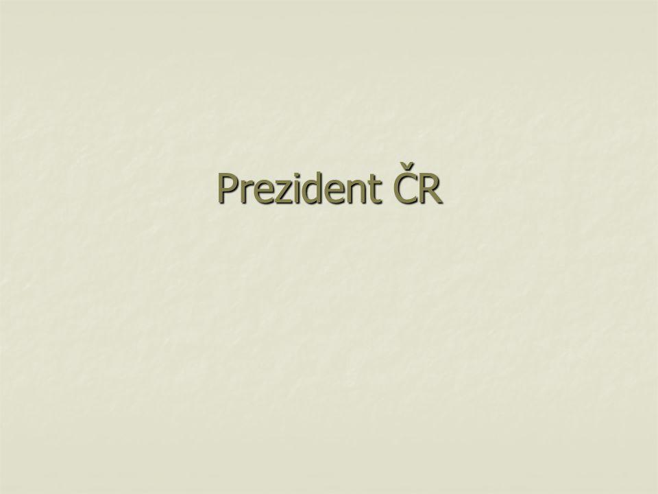 Prezident ČR