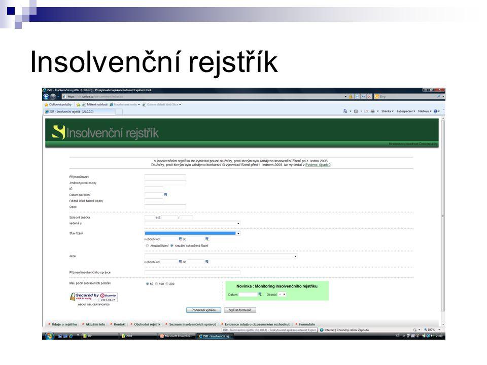 Insolvenční rejstřík