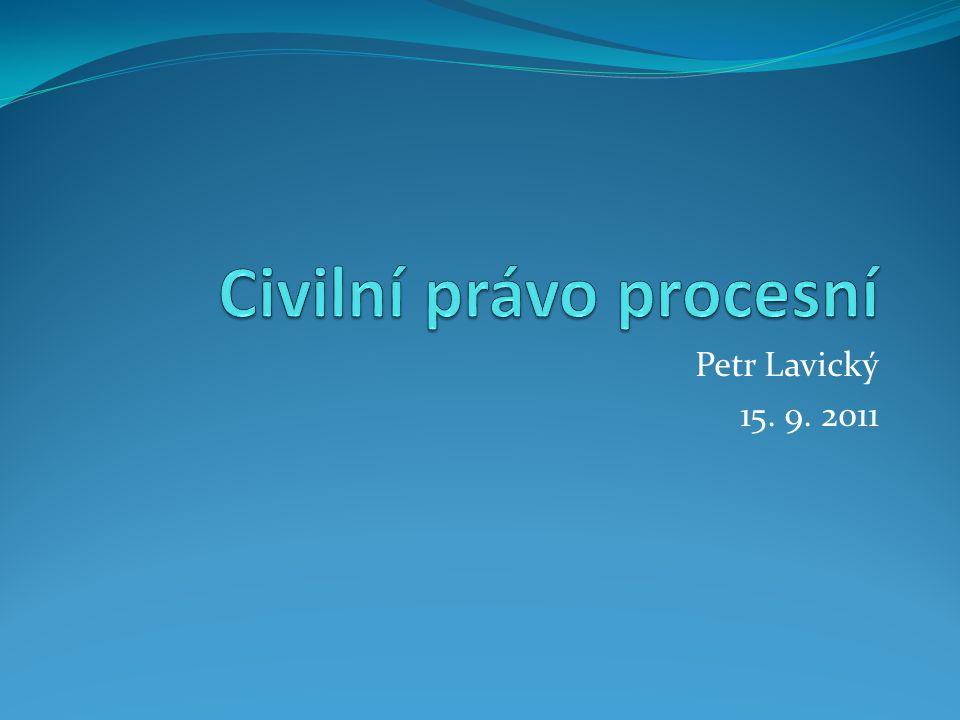 Petr Lavický 15. 9. 2011