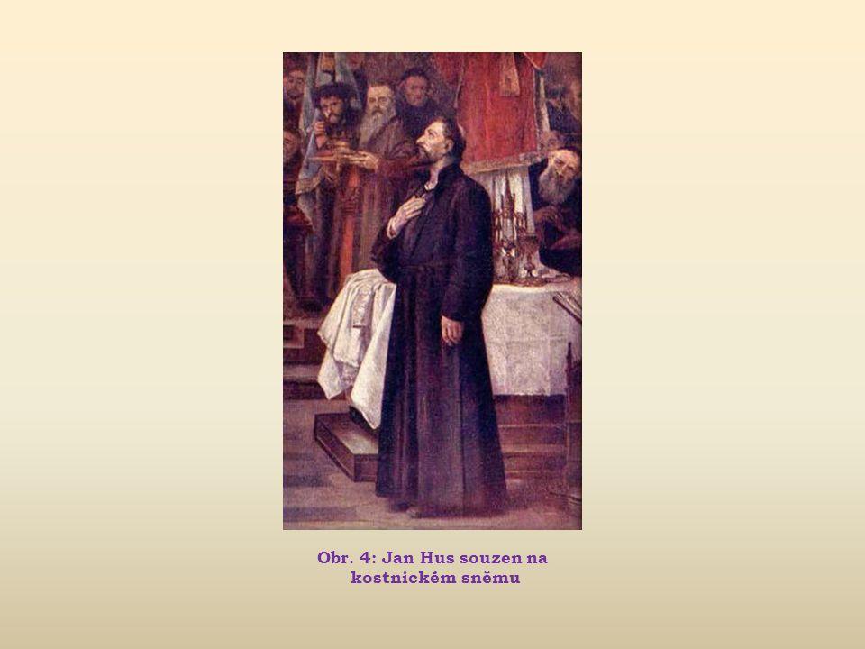 Jan Hus Život reformátora, myslitele a kazatele (~1370 – 1415)  1412 Hus odchází z Prahy na Kozí Hrádek, kde dokončuje svůj velký spis Výklad viery,