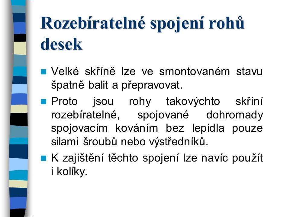 Střední odborné učiliště stavební, odborné učiliště a učiliště Sabinovo náměstí 16 360 09 Karlovy Vary Bohuslav Vinter odborný učitel uvádí pro T1 tuto výukovou prezentaci : SPOJOVÁNÍ DŘEVA