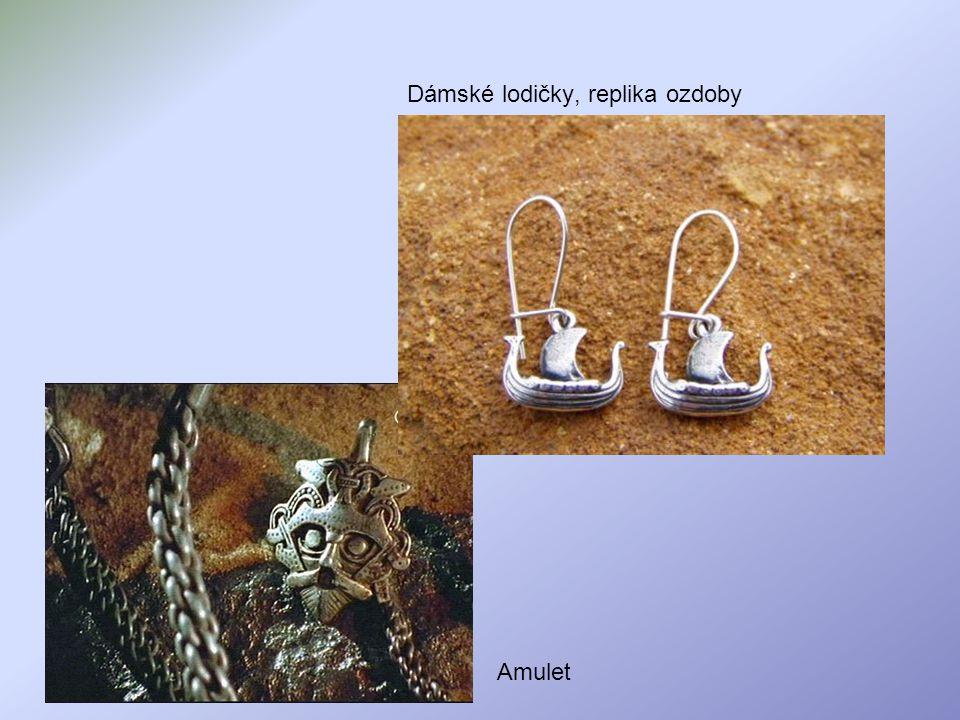 Dámské lodičky, replika ozdoby Amulet