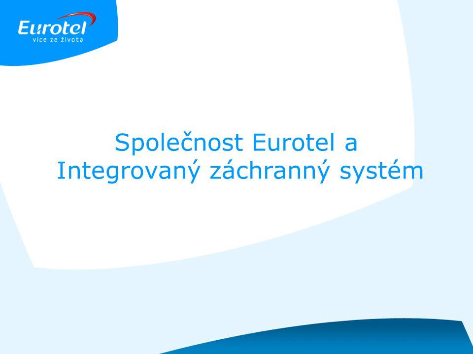 Společnost Eurotel a Integrovaný záchranný systém