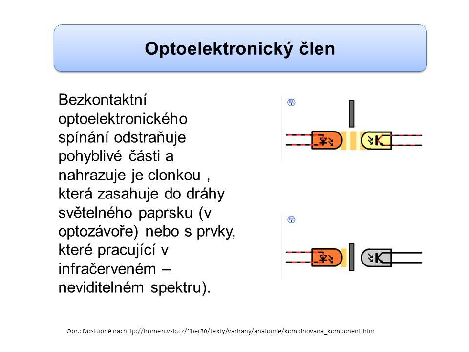 Optoelektronický člen Obr.: Dostupné na: http://homen.vsb.cz/~ber30/texty/varhany/anatomie/kombinovana_komponent.htm Bezkontaktní optoelektronického s