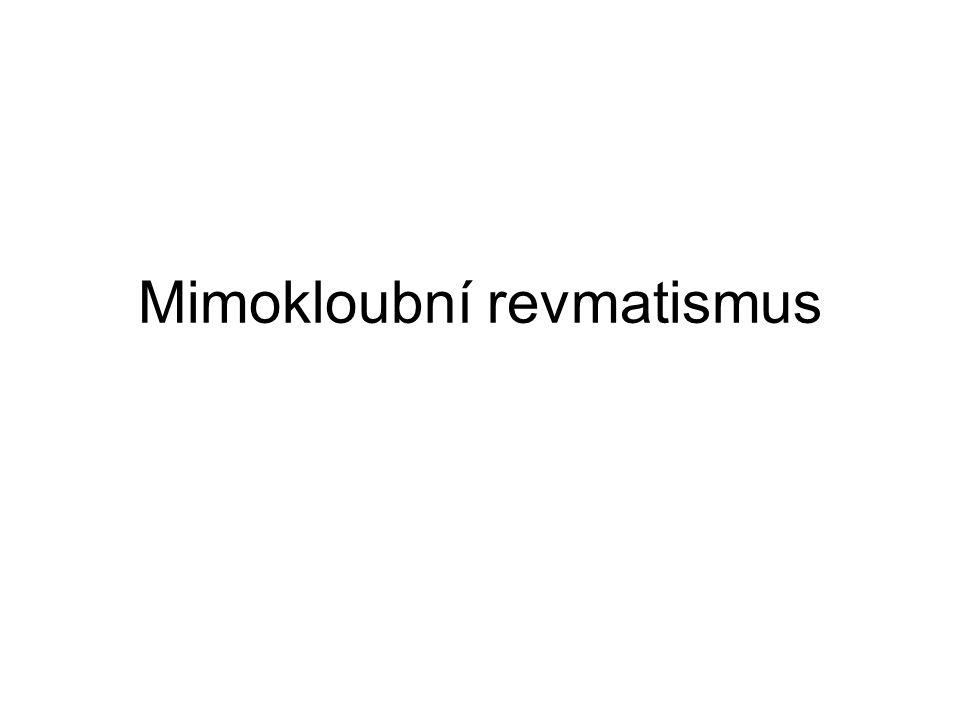 Mimokloubní revmatismus