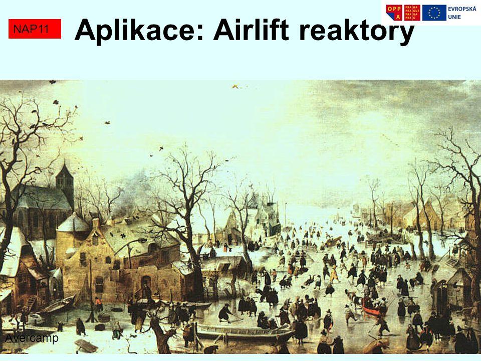 NAP11 Aplikace: Airlift reaktory Avercamp