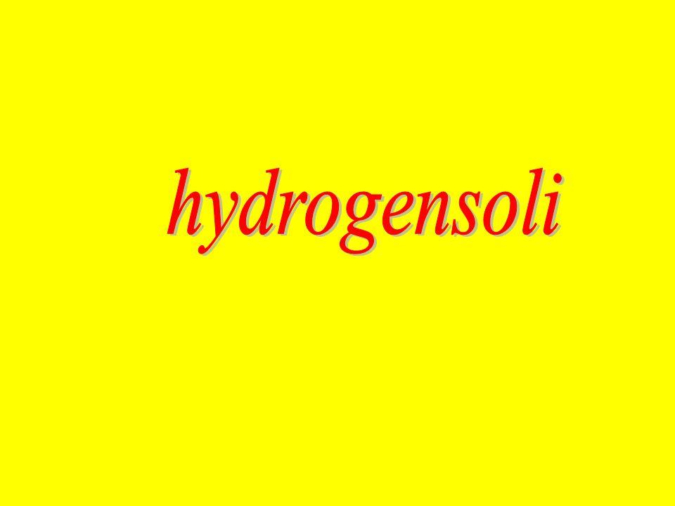 hydrogensoli -se tvoří zařazením slova hydrogen- před podstatné jméno soli -z latinského slova hydrogenium – tj.