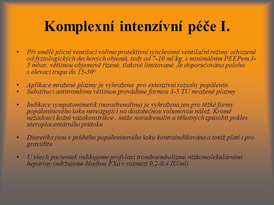 Komplexní intenzívní péče I.